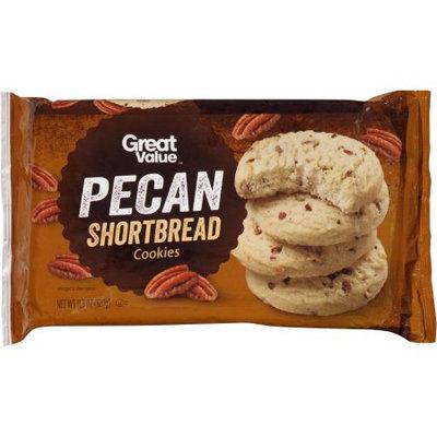 Great Value Pecan Shortbread Cookies 11.3oz