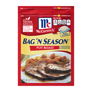 McCormick® Bag 'n Season® Pot Roast