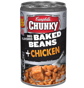 Campbell's® Chunky BBQ Flavored Baked Beans Chicken