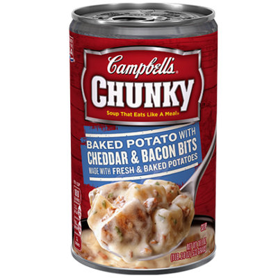Campbell's® Chunky Baked Potato With Cheddar & Bacon Bits Soup
