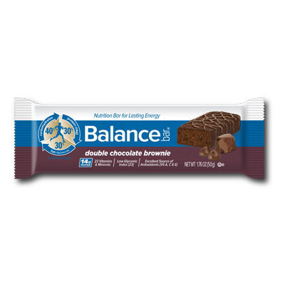 Balance Bar Double Chocolate Brownie