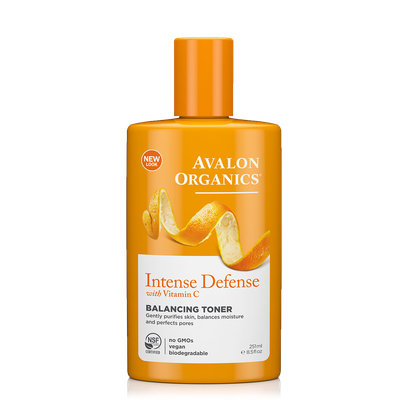 Avalon Organics Intense Defense With Vitamin C Balancing Toner