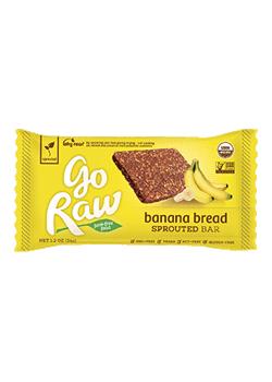 Go Raw Organic Banana Flax Bread Bar