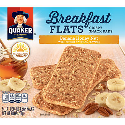 Quaker Life® Banana Honey Nut Breakfast Flats