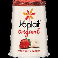 Yoplait® Original Strawberry Banana Yogurt