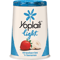Yoplait® Light Strawberries 'n Bananas Fat Free Yogurt
