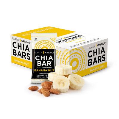 Health Warrior Chia Bars Banana Nut, One Size