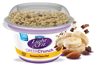 Light & Fit® Banana Choco Nut Greek Yogurt Crunch