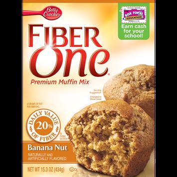Fiber One Banana Nut Muffin Mix