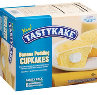 Tastykake® Banana Pudding Cupkakes