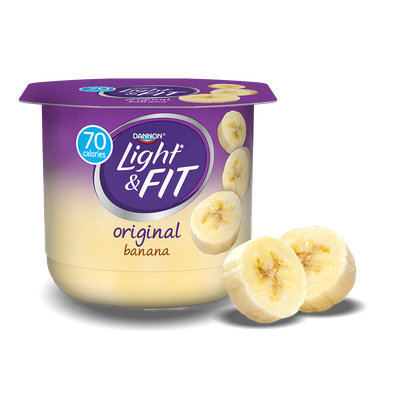 Light & Fit® Banana Nonfat Yogurt