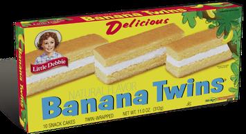 Little Debbie® Banana Twins Cakes
