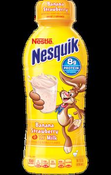 Nestle Nesquik Banana Protein Plus Buncha  Flavored