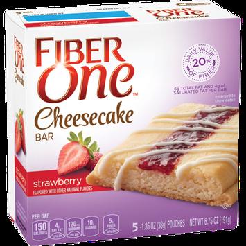 Fiber One Strawberry Cheesecake Bar