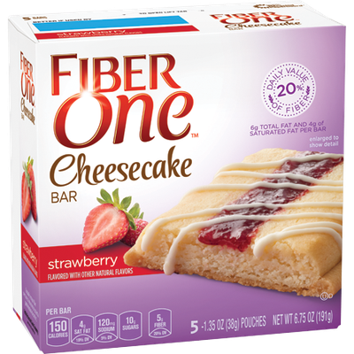 Fiber One Strawberry Cheesecake Bar