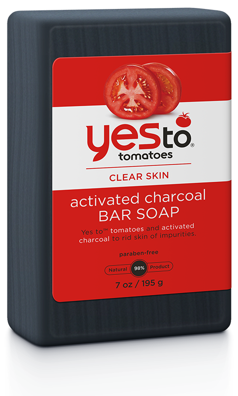Yes To Tomatoes Activated Charcoal Bar Soap