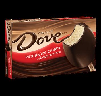 Dove Chocolate Dovebar Vanilla Ice Cream With Dark Chocolate