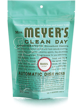 Mrs. Meyer's Clean Day Basil Automatic Dish Packs