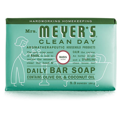 Mrs. Meyer's Clean Day Basil Daily Bar Soap