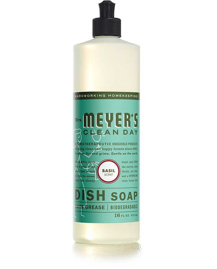 Mrs. Meyer's Clean Day Basil Dish Soap