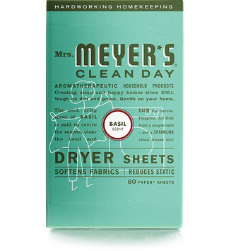 Mrs. Meyer's Clean Day Basil Dryer Sheets