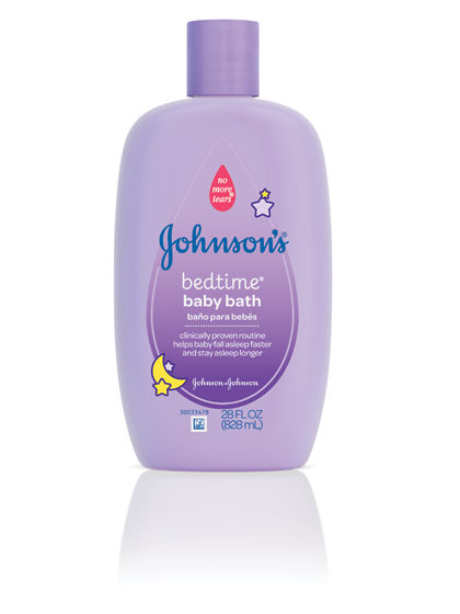 JOHNSON'S® BEDTIME® baby bath