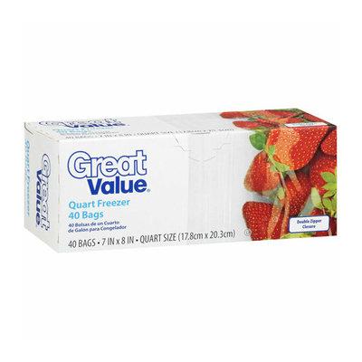 Great Value Freezer Quart