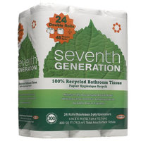 Seventh Generation Bathroom Tissue, 300ct, 2 ply, 24 ea
