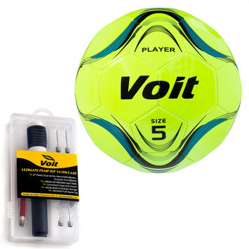 Lion Sports Inc. Player Soccer Ball with Ultimate Inflating Kit
