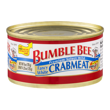 Bumble Bee Fancy White Crabmeat
