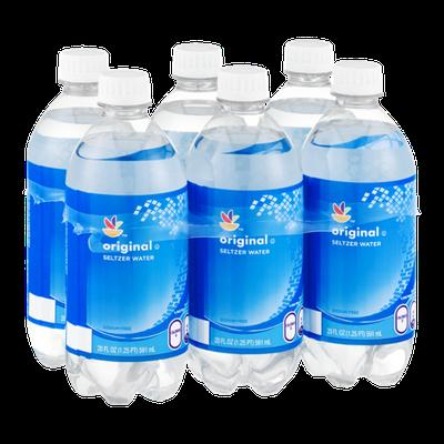 Ahold Seltzer Water Original - 6 PK