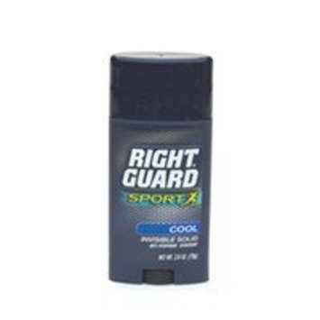 Right Guard Sport Antiperspirant and Deodorant Invisible Solid, Cool - 2.8 Oz