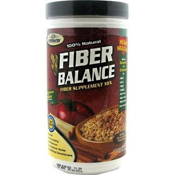 Integrated Supplements Fiber Balance Diet Supplement, Apple Cinnamon Oat, 350 Gram
