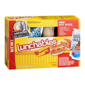 Lunchables Turkey American Cracker Stackers Lunch  bination 29 Oz Tray With Capri Sun Pacific Cooler Drink 60 Fl Oz Pouch likewise 132462 Kid Cuisine Carnival Mini Corn Dogs Frozen Dinner 8 8 Oz as well Showthread moreover Lunchables Ham American Cracker Stackers Lunch  bination 31 Oz Tray With Capri Sun Roarin Waters Drink 60 Fl Oz Pouch likewise Lunchables Convenience Meals Si 1257. on oscar mayer mini dogs product