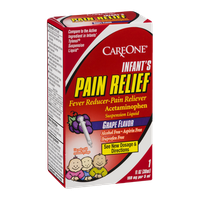 CareOne Infant's Pain Relief Liquid Grape Flavor