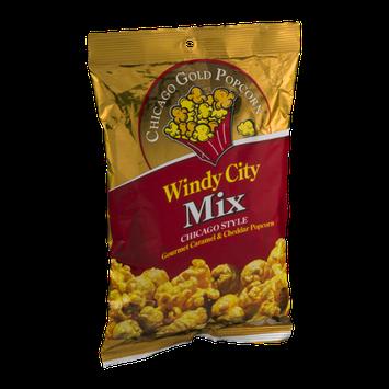 Chicago Gold Popcorn Windy City Mix