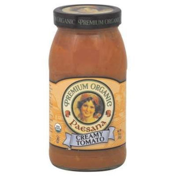 Paesana Sauce Crmy Tmo Org 25 Oz -Pack of 6