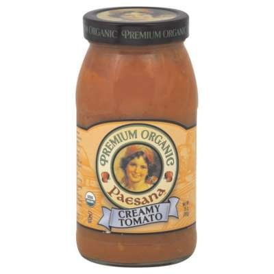 Paesana Sauce Crmy Tmo Org 25 Oz -Pack of 6