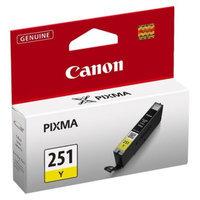 Canon CLI-251 Ink Cartridge - Yellow (6516B004)