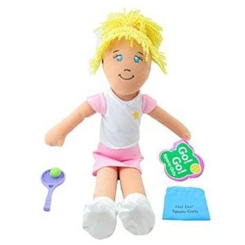 Dream Big Toys Go! Go! Sports Girl - Tennis Girl Gracie