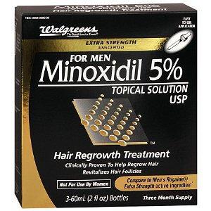 Walgreens Minoxidil Hair Regrowth Treatment For Men
