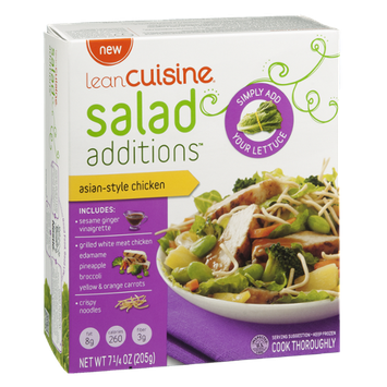 Lean Cuisine Salad Additions Asian-Style Chicken