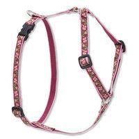Lupine 1/2 Inch Cherry Blossom Roman Dog Harness