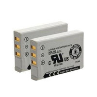Replacement Battery For Fuji NP95 (2 Pack)