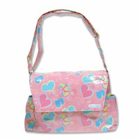 Trend Lab Groovy Love Messenger Diaper Bag
