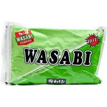 S B S&B Wasabi Powder, 2.2-Pound