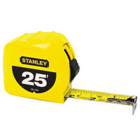 Stanley 30-455 Tape Measure, 25 Ft
