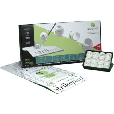 Birdieball Practice Golf Balls 12 pk. with Strike Pad