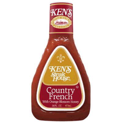 Ken's Country French With Orange Blossom Honey