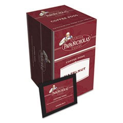 Knurr Premium Coffee Pods, Hazelnut, 0.75 oz, 18/Box